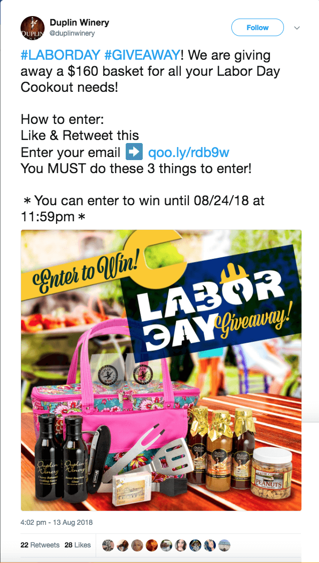 Labor Day Contest and Promotion Ideas