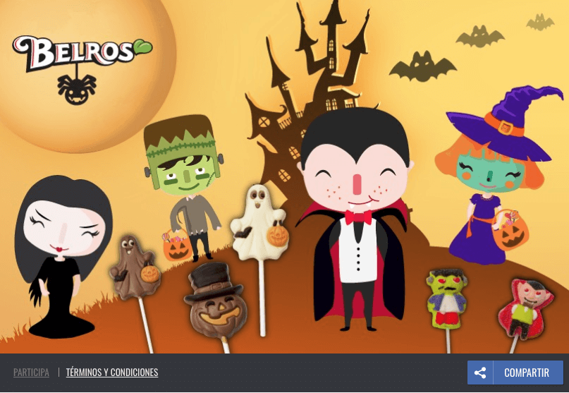 Belros Halloween Facebook survey