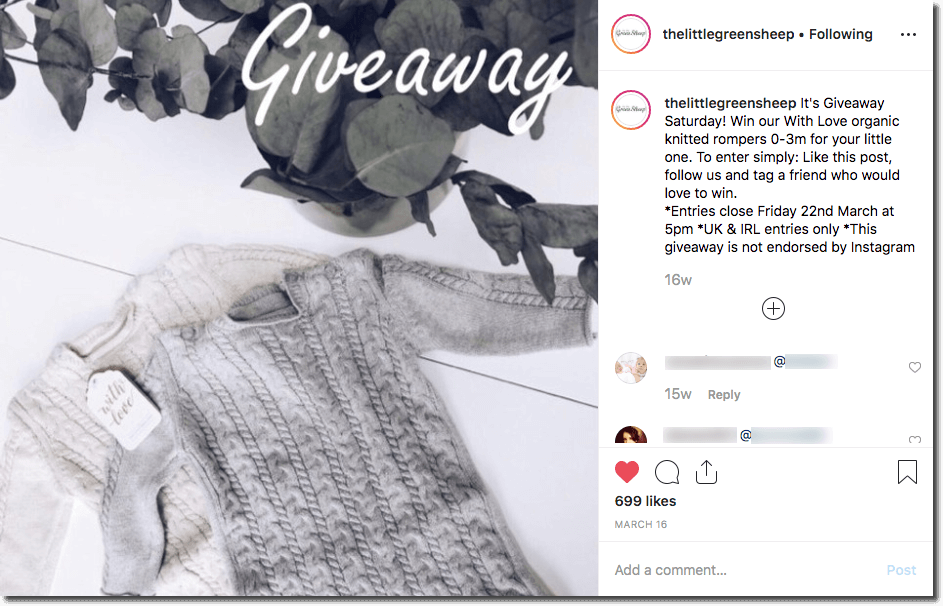 The 11 best Instagram giveaways to inspire your next marketing campaign