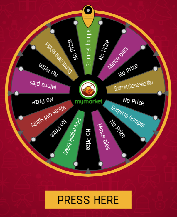 Spin the Wheel example