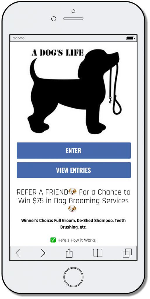 Refer a friend World Animal Day promotion