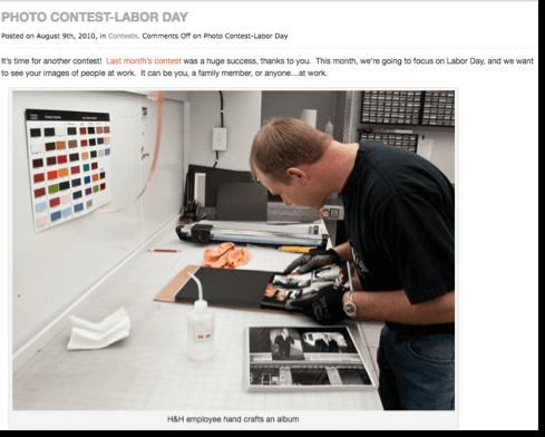 labor day contest: photo contest