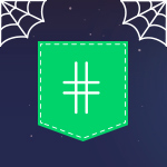 Halloween promotions hashtag