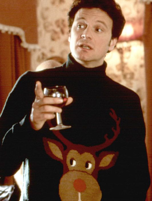 Christmas jumper Bridget Jones