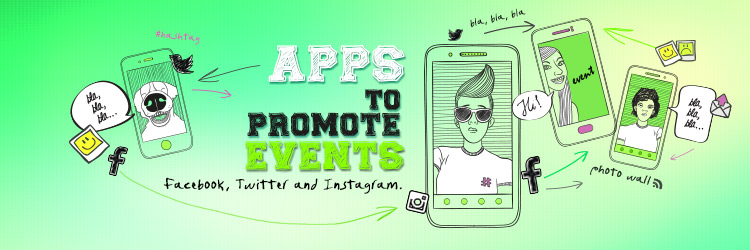 Apps to promote events