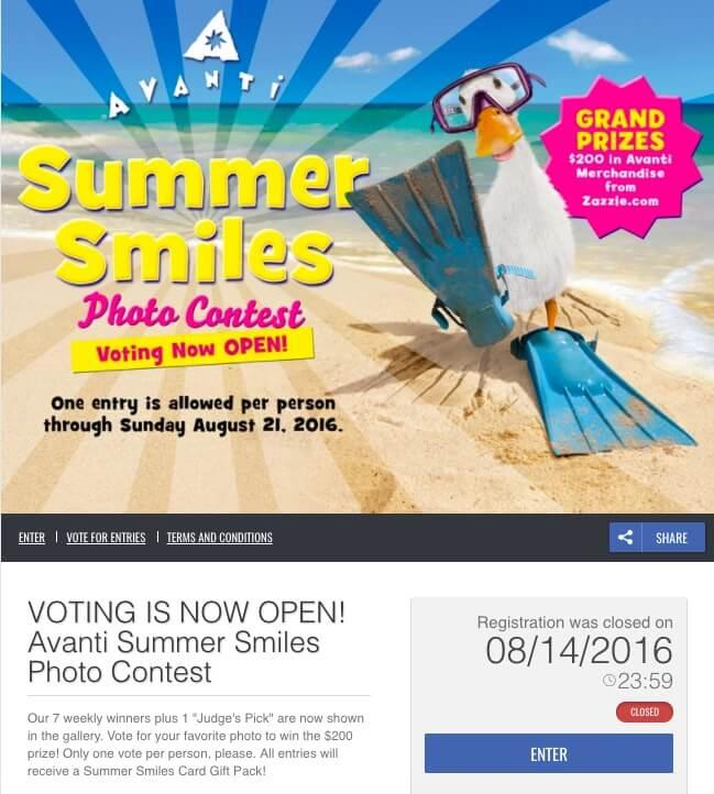 Avanti_Summer_Smiles_Photo_Contest