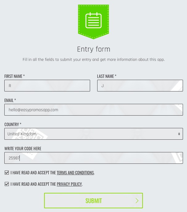 Customer_rewards_entry_form