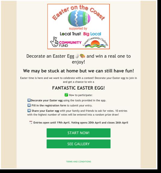scenes app promotion example