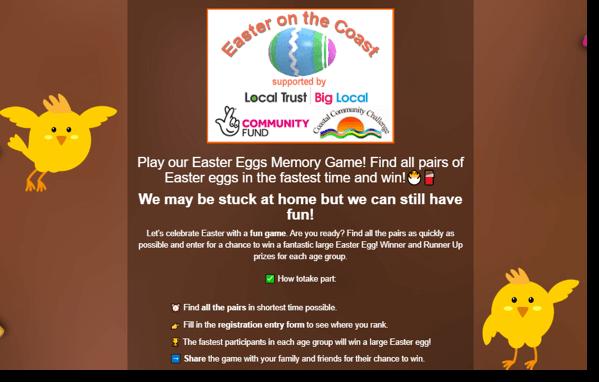 Easter branded memory game