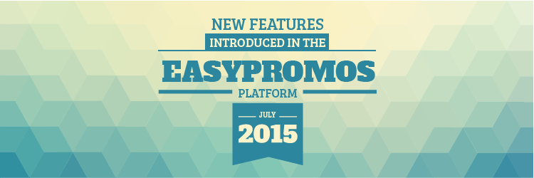 Easypromos new features H