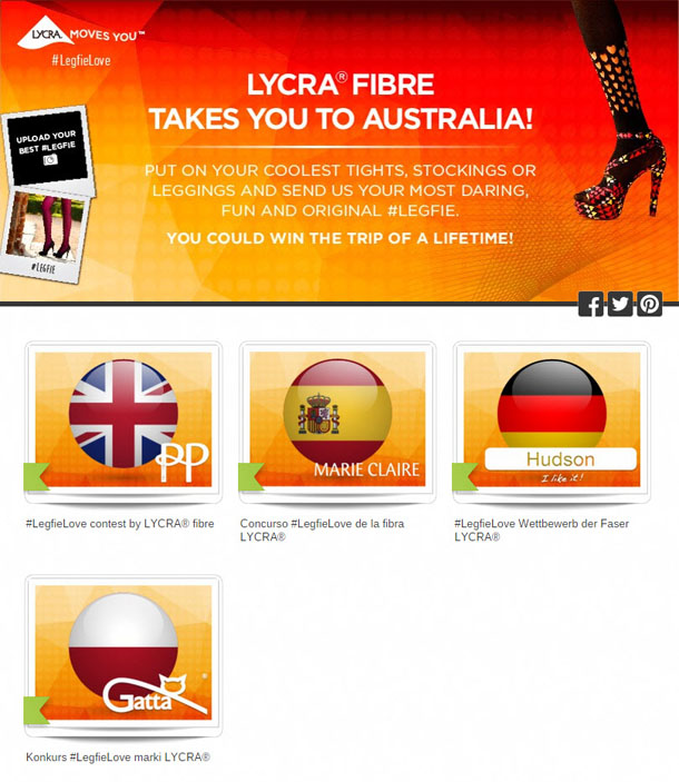 Promotions in different languages