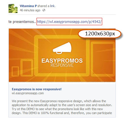 Material needed to create a promotion with Easypromos