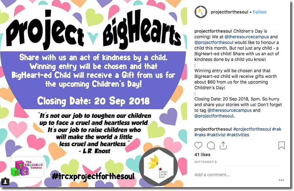 Children's Day Instagram Giveaway