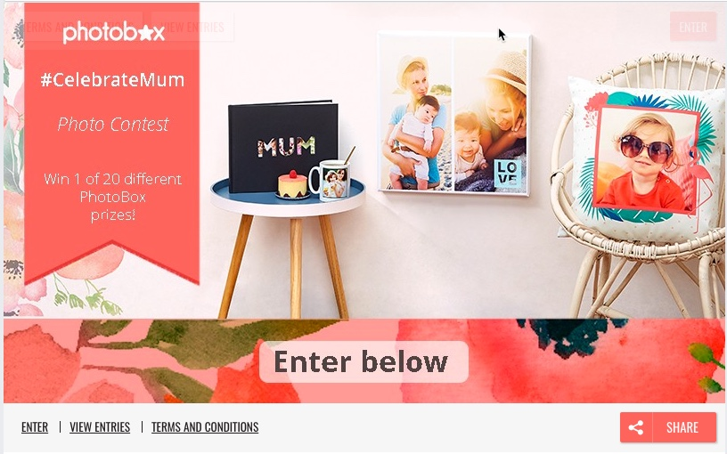 MothersDay photocontest Photobox