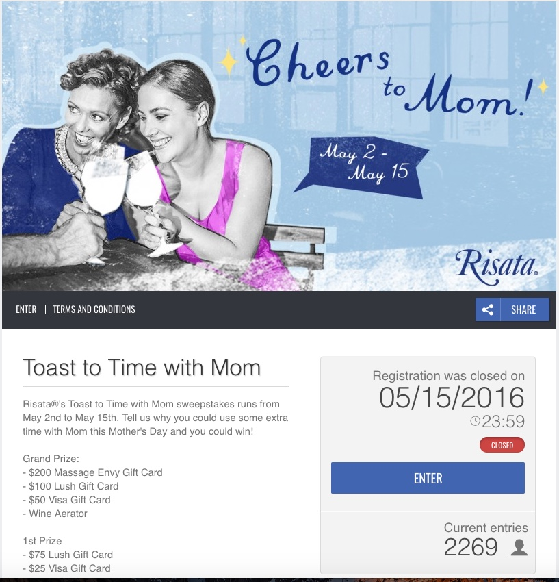 Mothersday comments contest