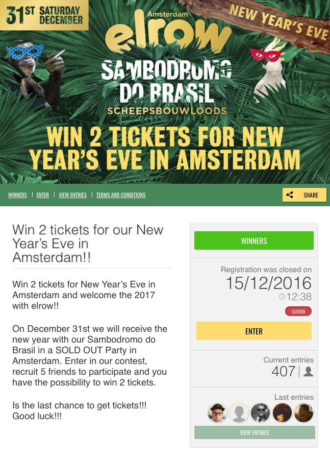 Ideas for New Year\'s Eve Promotions and Contests