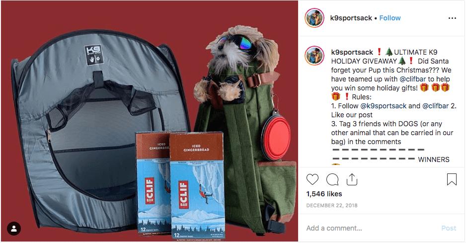 Instagram Christmas campaign ideas