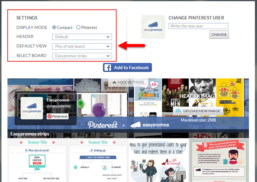 how to download pinterest app on facebook page