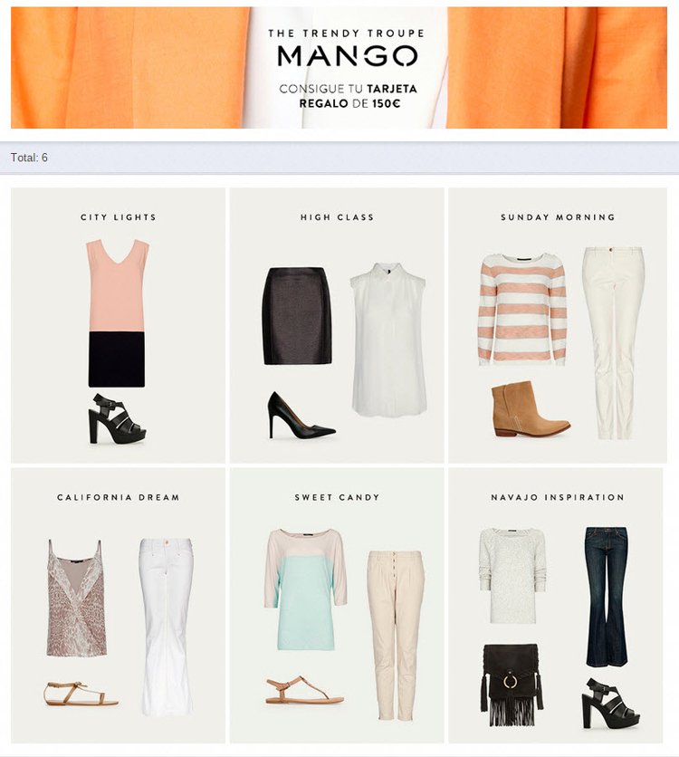 Pick your favorite outfit - Easypromos
