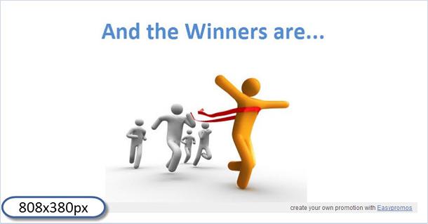 Winners image customized