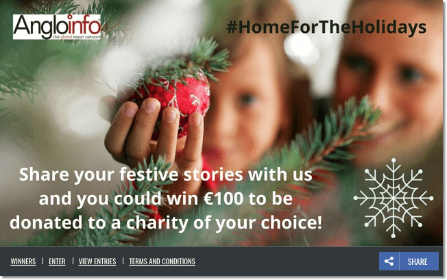 Christmas photo contest charity