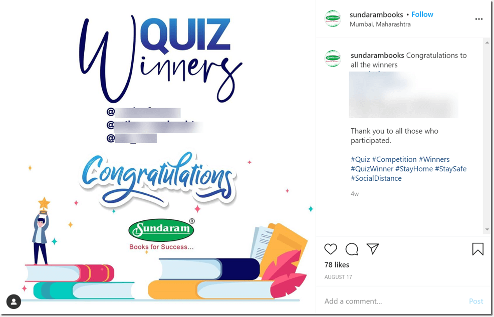 quizzes for social media