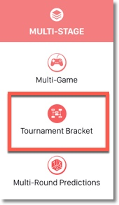 tournament bracket app on the easypromos applications site