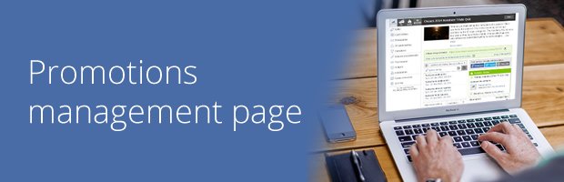 easypromos management page