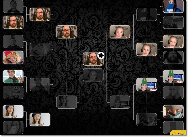 team building online: brackets to engage users
