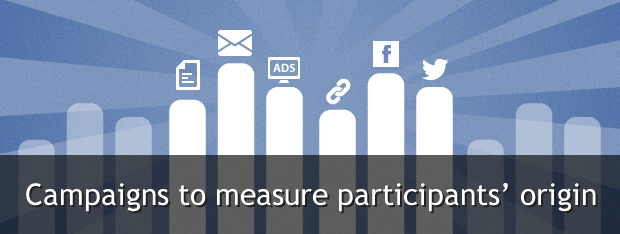 Campaigns to measure traffic source