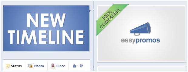 Easypromos new Facebook Timeline