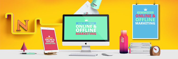 combine online and offline marketing