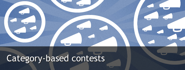 Category-based contests on Facebook