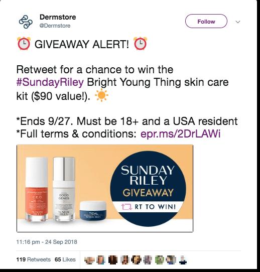 Health beauty Twitter Singles Day