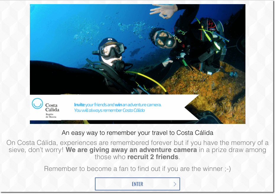 Promote tourism recruiter contest