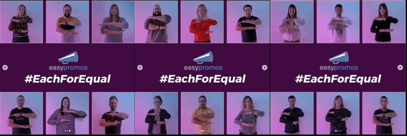 Easypromos #eachforequal