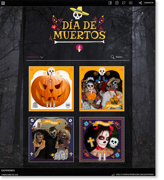 day of the dead promotion ideas