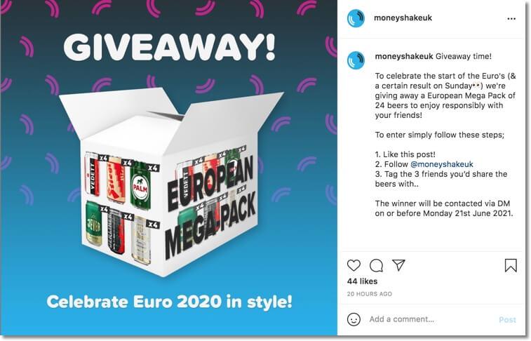 football championship giveaway euro2020 giveaway
