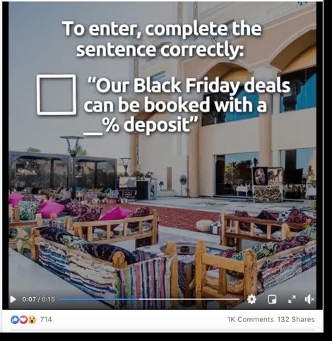Black friday marketing idea