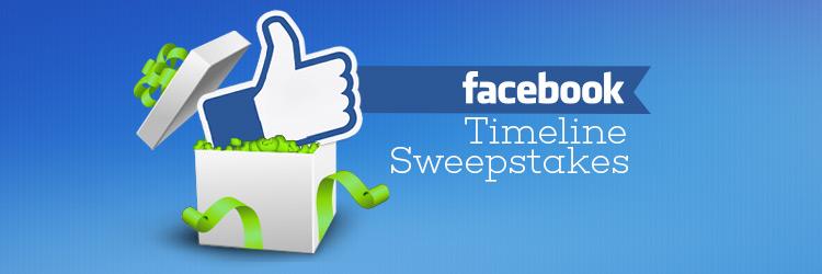 Facebook Timeline Sweepstakes App