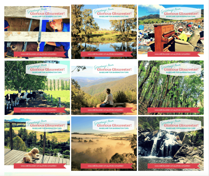 Photo gallery brand affinity tourism