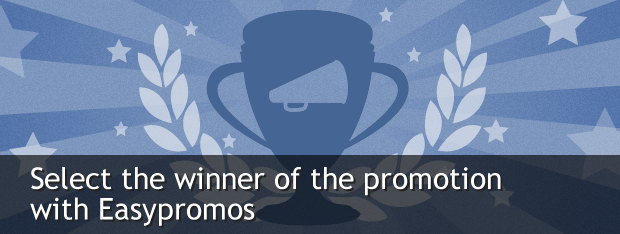 select the winner of the promotion with Easypromos