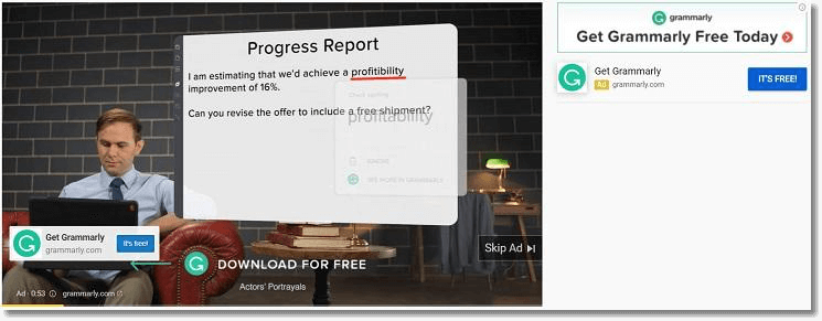 grammarly retargeting brand voice
