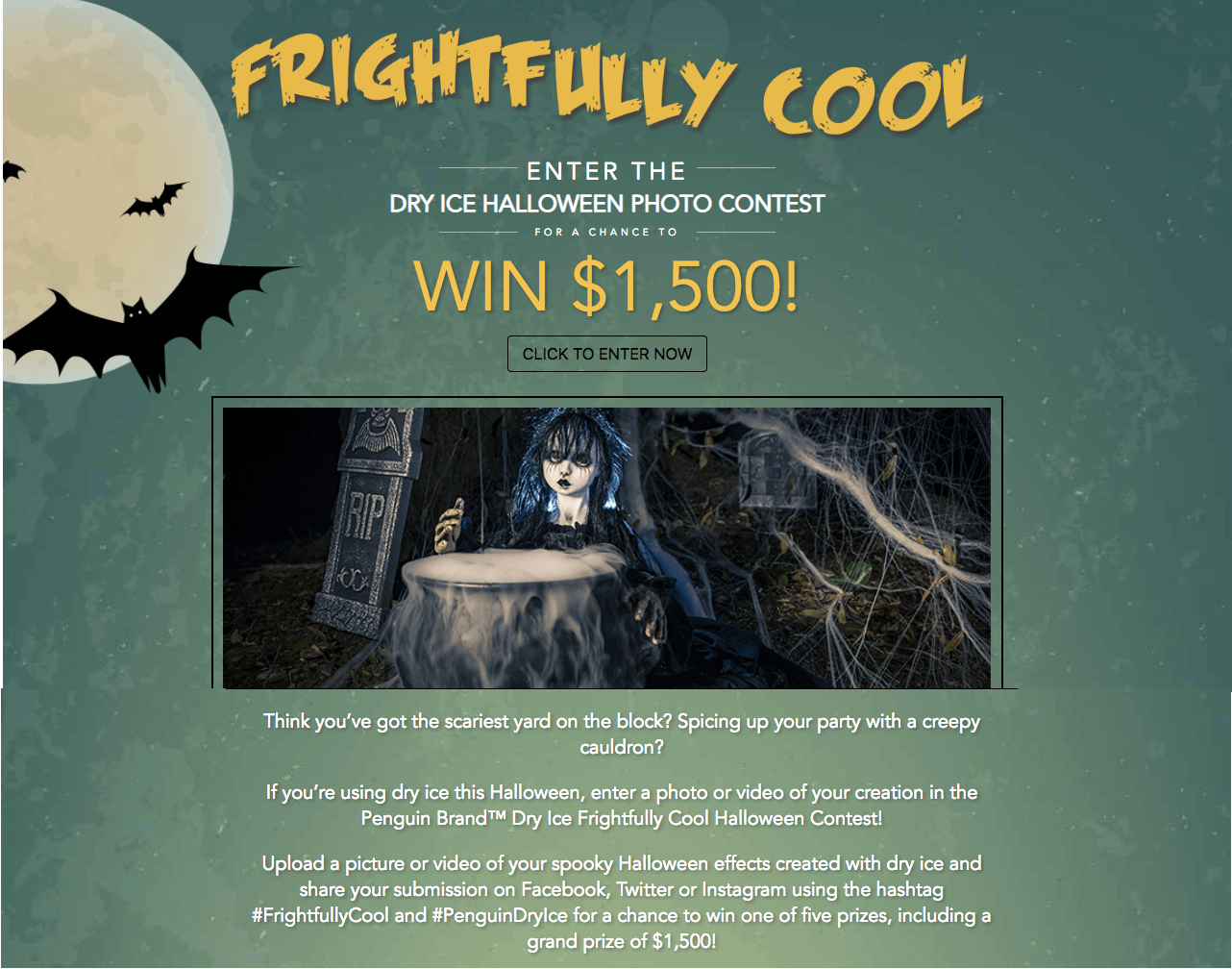Halloween contests photo video hashtag