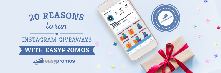 Instagram giveaways with Easypromos