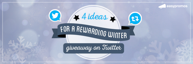 winter giveaway on Twitter