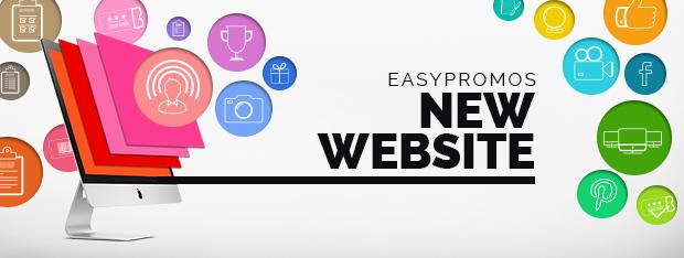 New Easypromos website