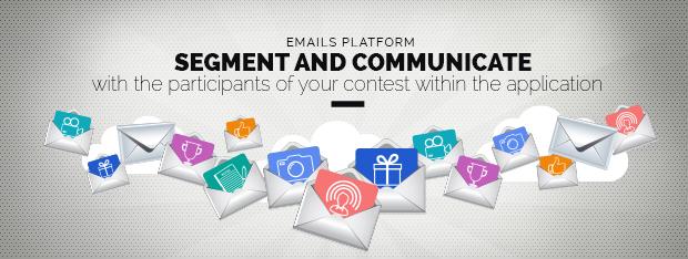 segment emails participants