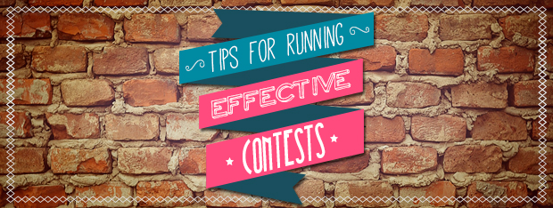 Tips for running effective contests