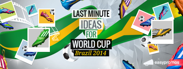 Facebook contests last minute ideas for World Cup Brazil 2014